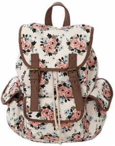 Kenox Canvas Backpack for Girls