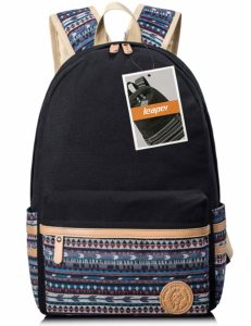 Leaper Casual Canvas School Backpack