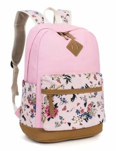 Leaper Floral Backpack for Girls