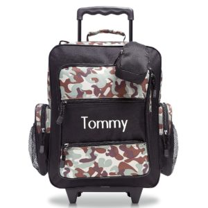 Personalized Rolling Luggage for Kids